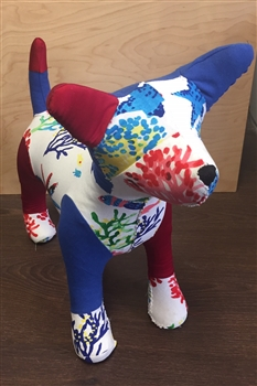 Custom Chula Dog- Patchwork