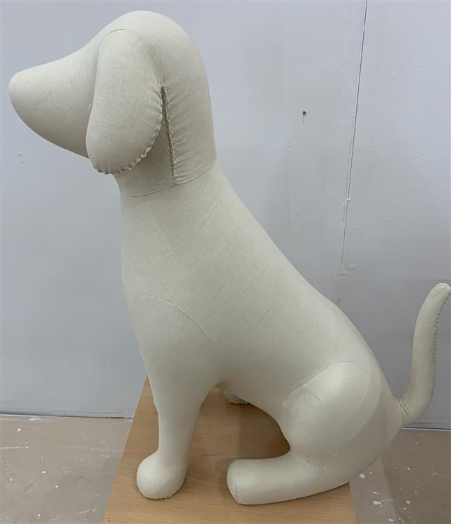 Dog Mannequin Large Foam Linen Dog Prop Display Dog Clothes