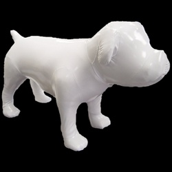 Large Standing Bulldog Mannequin