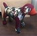 Custom Small Dog with Patchwork